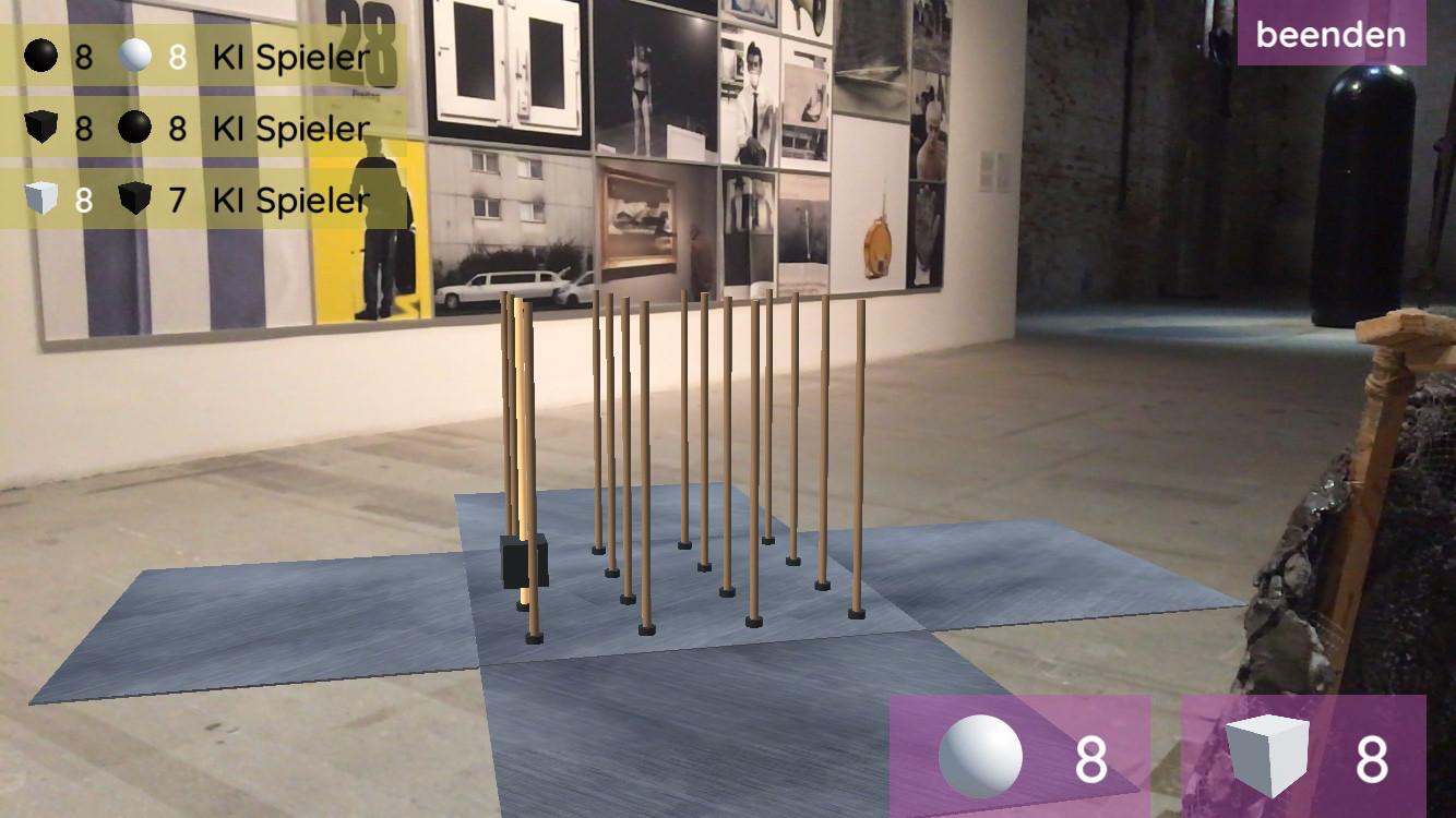 ForFour AR Augmented Reality Spiel für iOS und Android